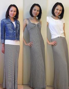 Three ways to wear a maxi dress!