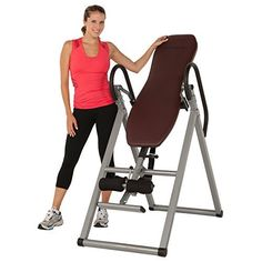 Get the excellent 5503 Exerpeutic Inversion Table with Comfort Foam Backrest by Exerpeutic online today. Purchase this product securely on Competitive Edge today.