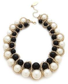 Adia kibur Double Row Ball Necklace on shopstyle.com