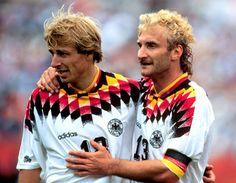 Jürgen Klinsmann und Rudi Völler