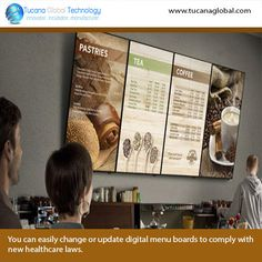 numerous possibilities - agenda meeting rooms - showing off work - office info . Digital Menu Boards, Digital Board, Digital Signage, Mom's Restaurant, Restaurant Menu Boards, Menu Board Design, Cafe Concept, Bakery Menu, Food Design