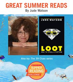 Looking for great summer reads for kids? Here's a recommendation by Jude Watson! Click through or visit scholastic.com/summer for more. #summerreading