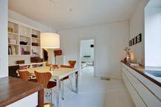 espacios pequenos 2 estilo nordico escandinavia interiores decoracion cocinas modernas blancas cocinas blancas interiores