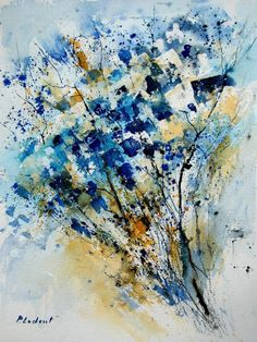 Watercolour painting by Pol Ledent