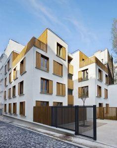 18 logements sociaux passage de la Brie à Paris, Paris, Explorations Architecture - Realisation