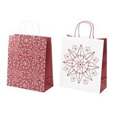 Cadeaupapier, -verpakkingen & decoratie - Kerstversiering - IKEA