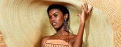 How a Larger-Than-Life Sunhat Became Summer's Must-Have Accessory - The top trends to try in 2019 Save The Day, In 2019, Sun Hats, Must Haves, Larger, Glamour, Summer, Lovers, Life