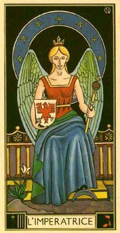 Atelier du Pied d'Or - Pictures of the Tarot d'Argolance - The Empress