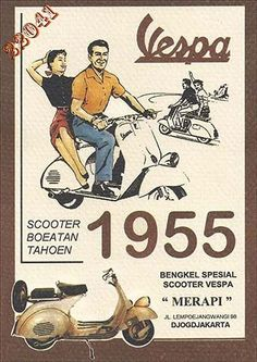 Vintage Motorcycles 32 Interesting Vintage Vespa Ads Around the World From Between the and Piaggio Vespa, Scooters Vespa, Scooter Scooter, Motor Scooters, Vintage Vespa, Pub Vintage, Old Posters, Movie Posters, Italian Posters