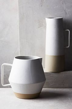 Morandi Pitcher - Anthropologie