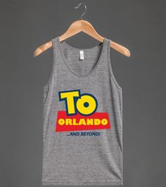 To Orlando and Beyond Tank Top for DIsney