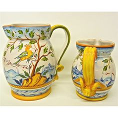 Tuscan Eden Pitcher