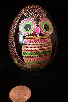 gives me an idea - paint easter eggs like owls :)
