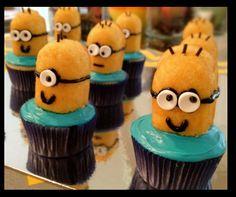 Minon Cupcakes!!! Bahhhh!