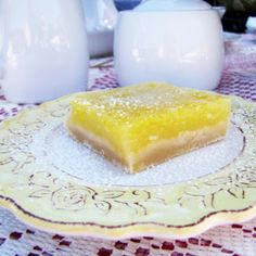 Perfect Lemon Bars | Rumbly in my Tumbly