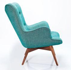 Angels Wings Rhythm fauteuil Kare Design groen