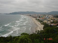 Vista Panorâmica da Praia de Bombas