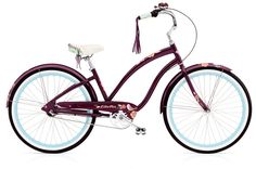 Electra Beachcruiser Wren 3i aubergine ladies