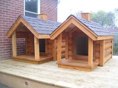 Insulated Dog houses for sale: Available in large and extra large size Siding options: T1-11 pine grooved siding $499.00 Cedar lap siding $599.00 Cedar log siding (Craigslist)