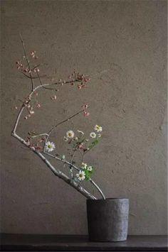 Japanese minimalist floral