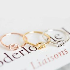 Knot Ring - Rebel Style Shop - The knot ring is a simple and elegant accessory that's designed for the modern woman. It is subtle yet stylish piece that can work with almost all outfits. Available in three colors, the ring is the perfect gift for your beloved or for yourself. Get them all while they're on sale!