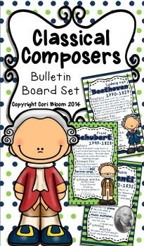 cost a little money. Music Education Activities, Physical Education, Music Bulletin Boards, Classical Music Composers, Music Worksheets, Fun Songs, Piano Teaching, Elementary Music, Music For Kids