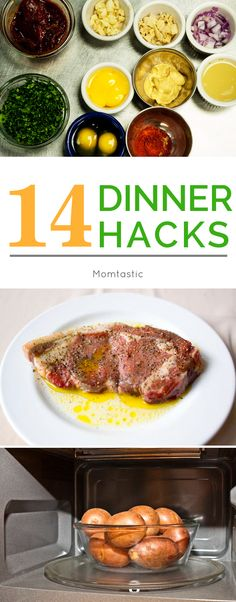 Dinner hacks and shortcuts