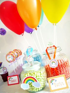 Rainbow Birthday Party Ideas for St Paddy's Day