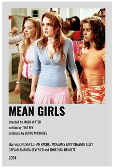 Iconic Movie Posters, Minimal Movie Posters, Iconic Movies, Mean Girls Movie, Photowall Ideas, Image Deco, Film Poster Design, Girl Posters, Room Posters
