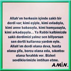 Allahim herkesin icinde sakli bir derdi var. Allah, Religion, Instagram Posts, Quotes, God, Religious Education, Allah Islam