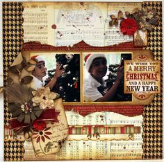 Luzma`s scrap place: December LE kit My Creative Scrapbook