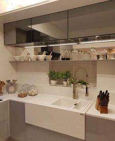 Cozinha linda! @pontodecor Via Nosso Apê 007 Via @maisdecor_ www.homeidea.com.br Face: /homeidea Pinterest: Home Idea #homeidea #arquitetura #ambiente #archdecor #archdesign #projeto #homestyle #home #homedecor #pontodecor #homedesign #photooftheday #interiordesign #cozinha #picoftheday #decoration #revestimento #decoracao #architecture #archdaily #inspiration #project #regram #home #casa #grupodecordigital