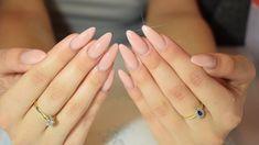déco ongle gel rose nude fait maison #nail  #decoration