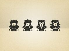 some cool bear icons
