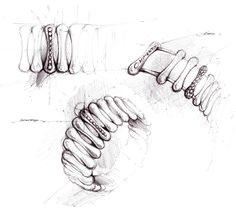 Massimiliano Bonoli - Jewelry Sketch Design