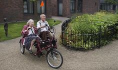 """The village where people have dementia – and fun: """"There's one woman here,"""" says Westerink, """"who hasn't spoken for years. But she sings along to all these tunes. You know, sometimes it's not just the residents who feel good about being here.""""    About a care home (village) near Amsterdam with a radical new way of caring for the elderly suffering from dementia. Brilliant."""