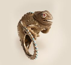Maya & Rumen - Master wax carvers who create tiny wearable sculptures based on birds, fish and other favorite creatures