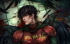 Jason Todd He was an Angel for me. With wonderful black wings. But Joker destroyed his wings and took his life. The story of second Robin Jason Todd is the most painful story for me. Now Jason is m...