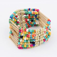 Cheap jewelry glue, Buy Quality bangle cuff directly from China bangle bands Suppliers: New Bohemia Retro Bracelet For Women Pure Handmade Bead Multicolor Charm Vintage Cuff Bracelets & Bangles Fine Jewelry 2