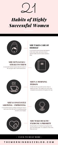 21 Habits Of Highly Successful Women Successful women share habits that help them conquer their goals. Here are 21 habits you can adopt to achieve success in your own life. Robert Kiyosaki, Fitness Home, Health Fitness, Affirmations, Success Meaning, Success Mindset, Good Time Management, Time Management Quotes, Habits Of Successful People
