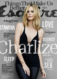 Charlize Theron Esquire May 2015 Cover - Charlize Theron James White Photos