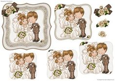 Happy Couple Pyramage Topper on Craftsuprint - Add To Basket!