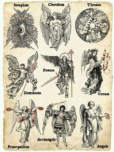 The Angel-Evoking Tarot by Travis McHenry — Kickstarter Mythological Creatures, Mythical Creatures, Esoteric Art, Esoteric Tattoo, Satanic Art, Arte Obscura, Occult Art, Biblical Art, Arte Horror