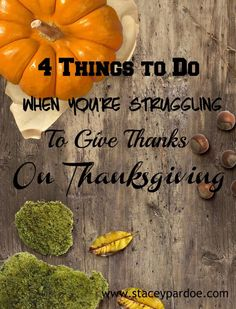 Thanksgiving Encouragement for when Thanksgiving Is Hard - Stacey Pardoe