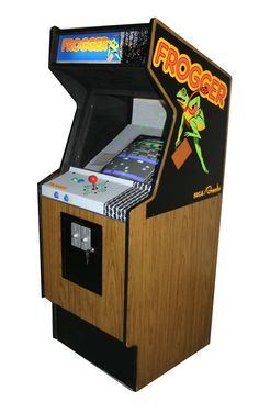 Frogger -- at the Video Arcade