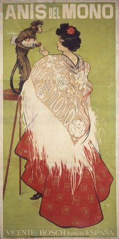 Anís del Mono (Con una falda de percal planchá) (In a pressed percale skirt) | Museu Nacional d'Art de Catalunya 1898