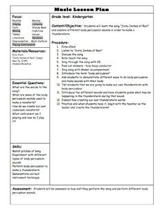 Lesson plan template for elementary school 1000 images for Outstanding lesson plan template