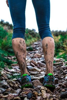 Get a little mud while Trail Running.