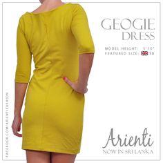 #semiformals #dress #yellow #ladieswear