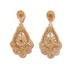 Farbtöne: Rosé Gold und Coralle Drop Earrings, Videos, Gold, Accessories, Jewelry, Fashion, Moda, Jewlery, Jewerly